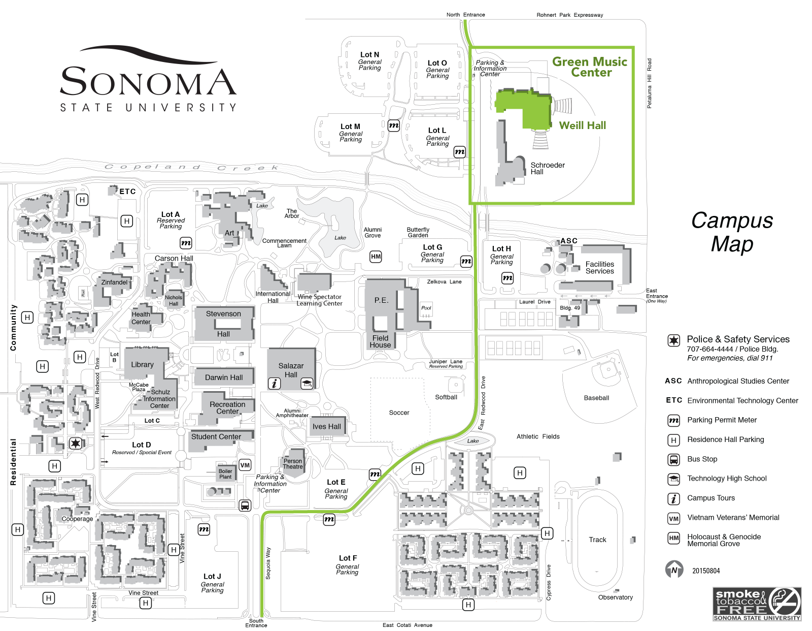 Maps Commencement At Sonoma State University